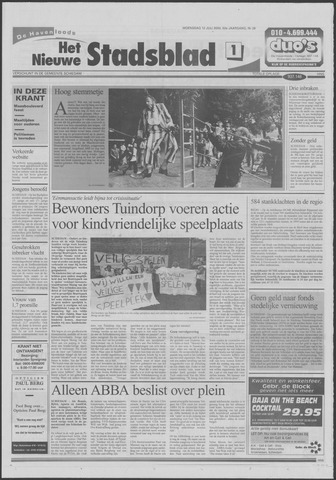 Het Nieuwe Stadsblad 2000-07-12