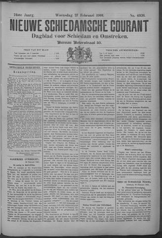 Nieuwe Schiedamsche Courant 1901-02-27