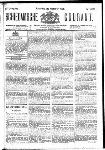 Schiedamsche Courant 1898-10-22