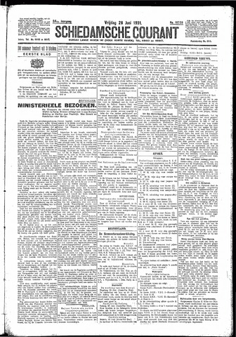 Schiedamsche Courant 1931-06-26