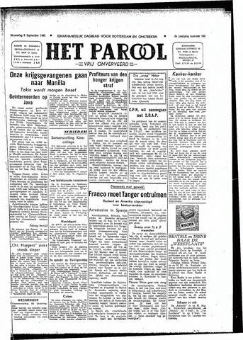 Rotterdamsch Parool / De Schiedammer 1945-09-05