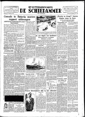 Rotterdamsch Parool / De Schiedammer 1947-08-26