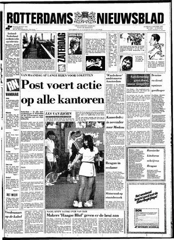 Rotterdamsch Nieuwsblad / Schiedamsche Courant / Rotterdams Dagblad / Waterweg / Algemeen Dagblad 1983-10-08
