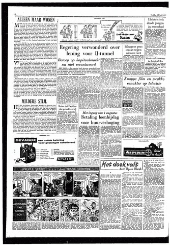 Rotterdamsch Parool / De Schiedammer 1957-07-12