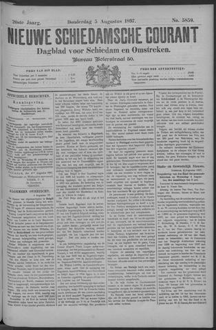 Nieuwe Schiedamsche Courant 1897-08-05