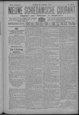 Nieuwe Schiedamsche Courant 1918-08-13