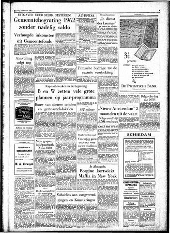 Rotterdamsch Parool / De Schiedammer 1961-10-07