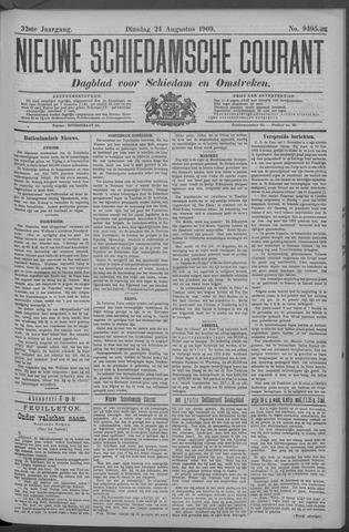 Nieuwe Schiedamsche Courant 1909-08-24