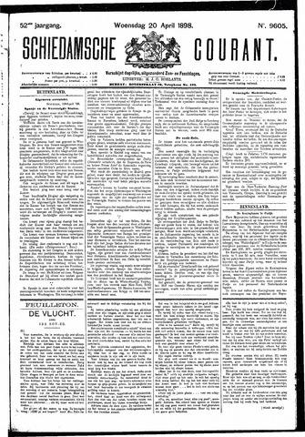 Schiedamsche Courant 1898-04-20
