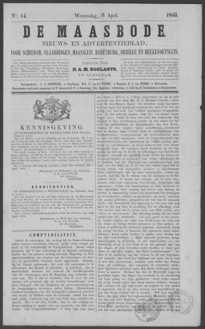 De Maasbode 1853-04-06