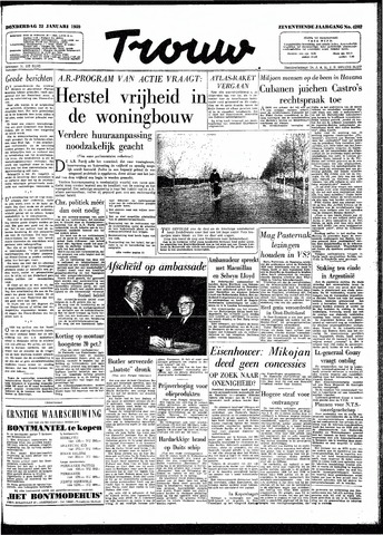Trouw / De Rotterdammer 1959-01-22