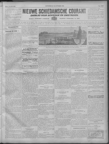 Nieuwe Schiedamsche Courant 1932-10-20