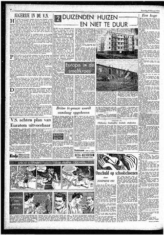 Rotterdamsch Parool / De Schiedammer 1957-02-09