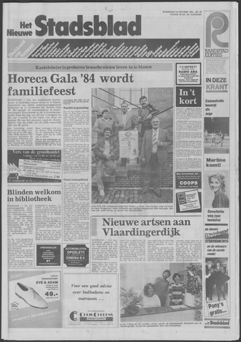 Het Nieuwe Stadsblad 1984-10-24