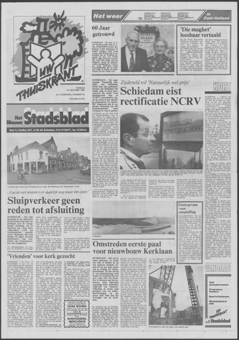 Het Nieuwe Stadsblad 1989-10-20