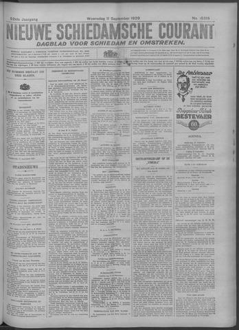 Nieuwe Schiedamsche Courant 1929-09-11
