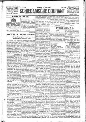 Schiedamsche Courant 1931-06-23
