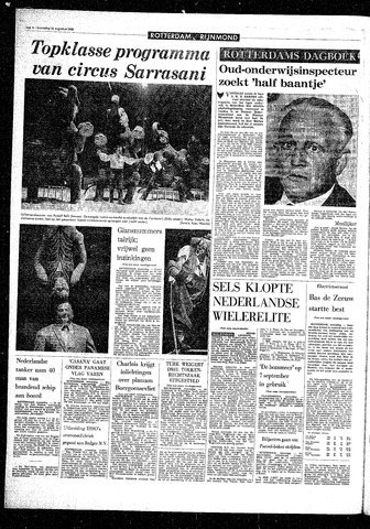 Rotterdamsch Parool / De Schiedammer 1968-08-21
