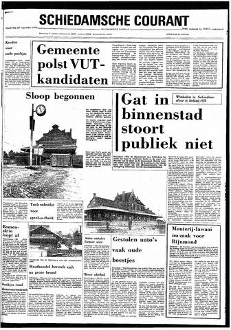 Rotterdamsch Nieuwsblad / Schiedamsche Courant / Rotterdams Dagblad / Waterweg / Algemeen Dagblad 1979-09-27