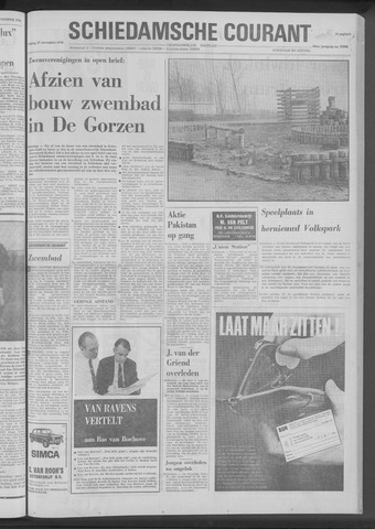 Rotterdamsch Nieuwsblad / Schiedamsche Courant / Rotterdams Dagblad / Waterweg / Algemeen Dagblad 1970-11-27