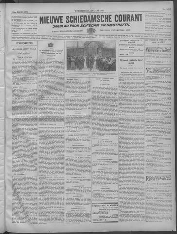 Nieuwe Schiedamsche Courant 1932-01-27