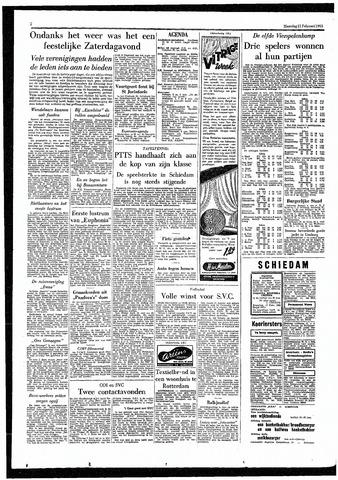 Rotterdamsch Parool / De Schiedammer 1955-02-21
