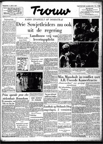 Trouw / De Rotterdammer 1957-07-05