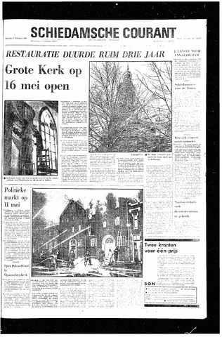 Rotterdamsch Nieuwsblad / Schiedamsche Courant / Rotterdams Dagblad / Waterweg / Algemeen Dagblad 1970-02-07