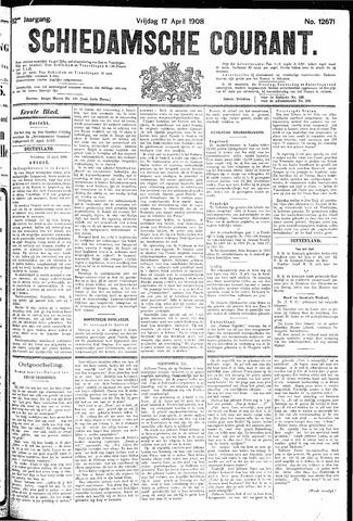 Schiedamsche Courant 1908-04-17