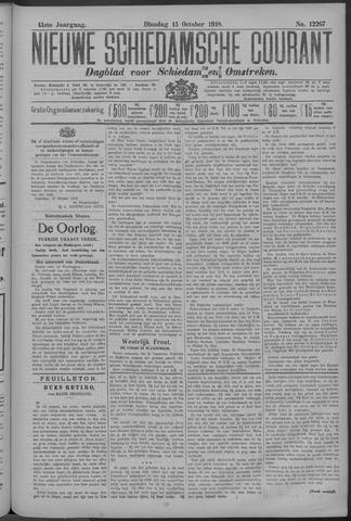 Nieuwe Schiedamsche Courant 1918-10-15