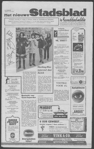 Het Nieuwe Stadsblad 1970-07-24