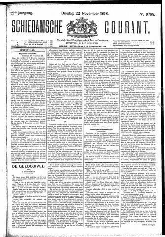 Schiedamsche Courant 1898-11-22