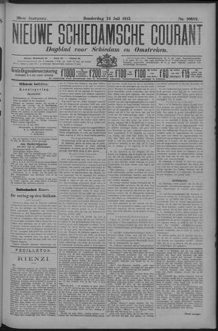 Nieuwe Schiedamsche Courant 1913-07-24