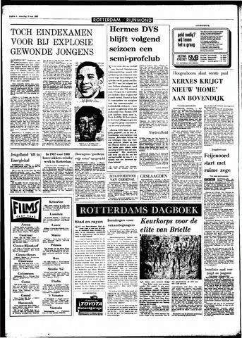 Rotterdamsch Parool / De Schiedammer 1968-05-18
