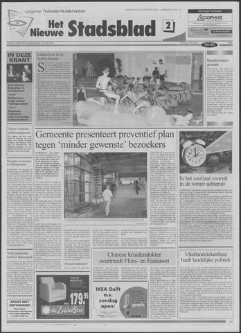 Het Nieuwe Stadsblad 2002-10-24