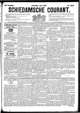 Schiedamsche Courant 1916-04-01