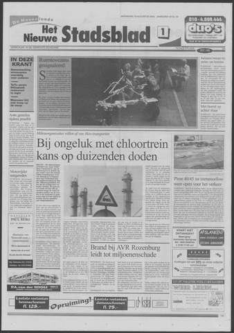 Het Nieuwe Stadsblad 2000-08-16