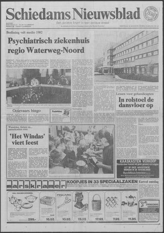 Schiedams Nieuwsblad 1981-08-26