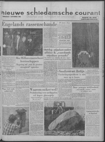 Nieuwe Schiedamsche Courant 1958-09-04