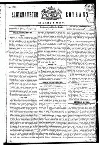 Schiedamsche Courant 1851-03-01