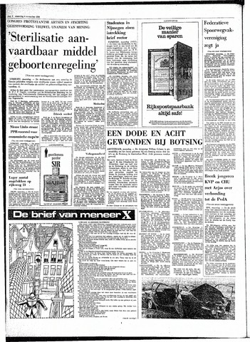 Rotterdamsch Parool / De Schiedammer 1968-11-04