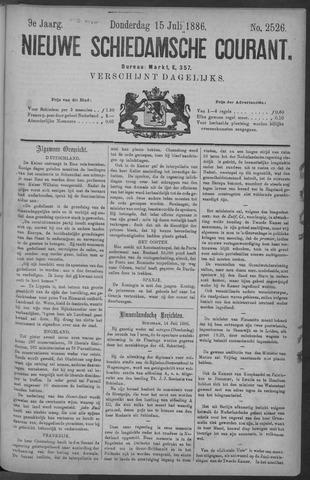 Nieuwe Schiedamsche Courant 1886-07-15