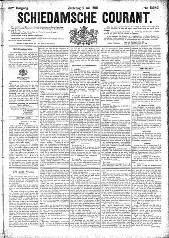 Schiedamsche Courant 1910-07-02