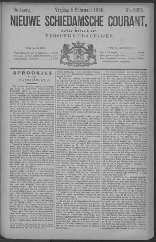 Nieuwe Schiedamsche Courant 1886-02-05