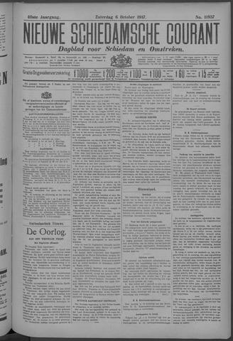 Nieuwe Schiedamsche Courant 1917-10-06