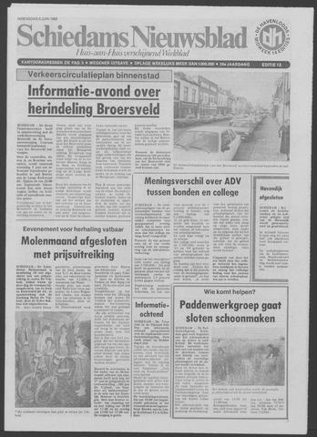 Schiedams Nieuwsblad 1985-06-05