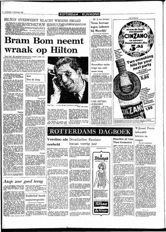 Rotterdamsch Parool / De Schiedammer 1968-09-05