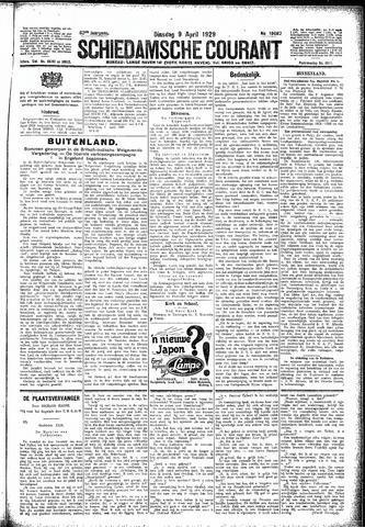 Schiedamsche Courant 1929-04-09