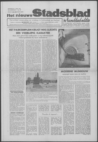 Het Nieuwe Stadsblad 1962-04-04