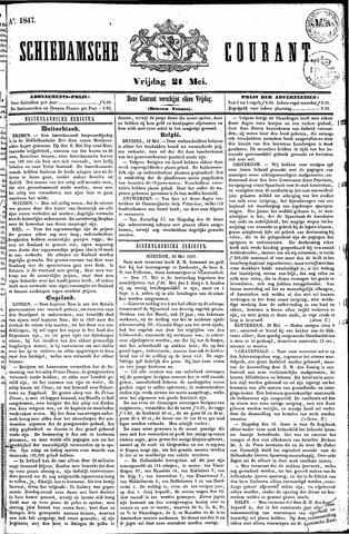 Schiedamsche Courant 1847-05-21